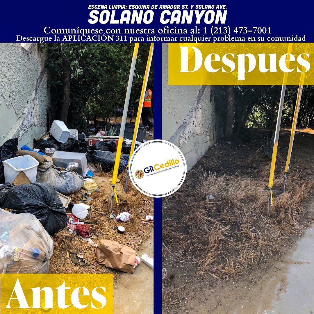 SPANISH Team Cedillo's strike team is in full effect today, corner of Amador St. And Solano Ave. 5-26-2021