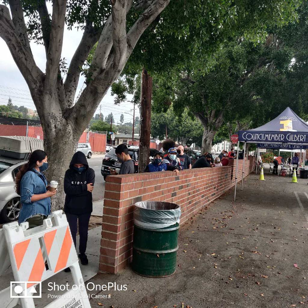 Glassell Park Vaccination Site 6-6-2021