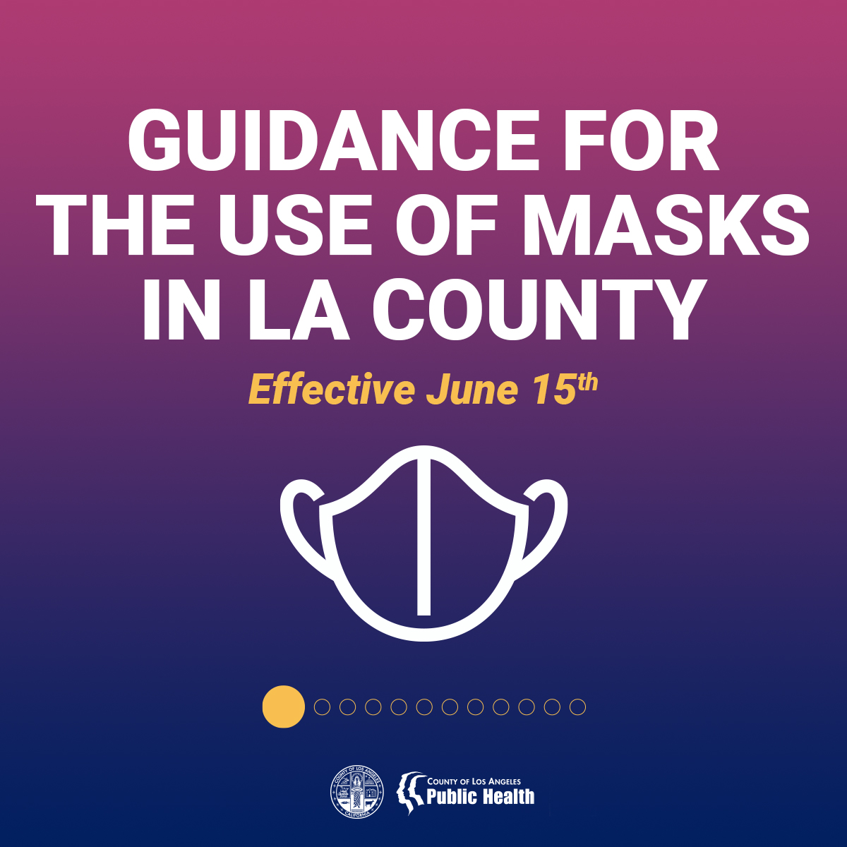 Guidance for the use of masks on 6-15-2021 #1