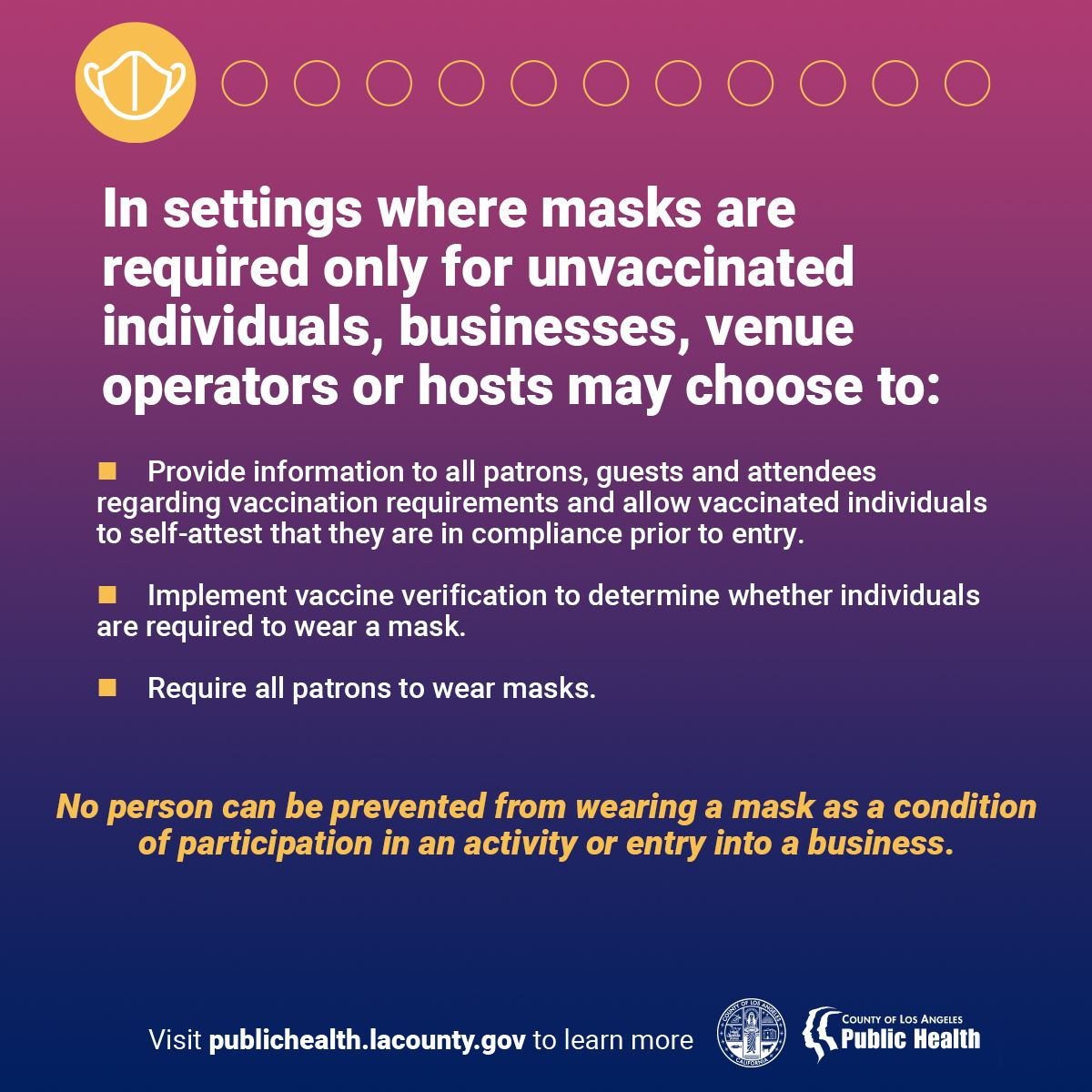 Guidance for the use of masks on 6-15-2021 #4