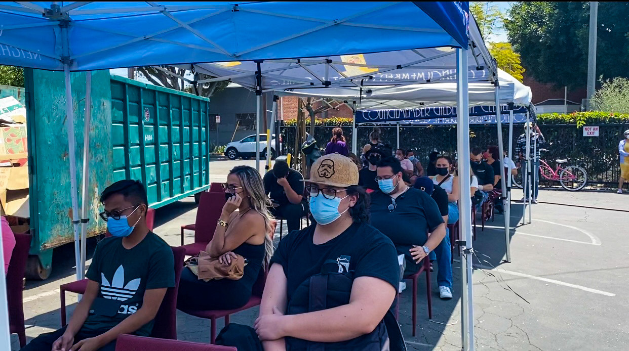 Young People Get Vaccinated 6-9-2021