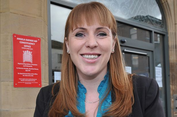 Angela Rayner, Shadow Secretary of State for Education and Labour MP for Ashton-under-Lyne