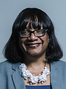 Diane Abbott, Shadow Home Secretary and Labour MP for Hackney North and Stoke Newington