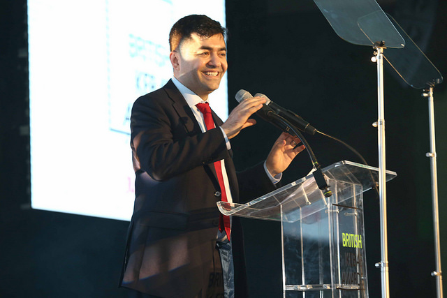 Read Founder Ibrahim Dogus' speech at the 6th British Kebab Awards (2018)