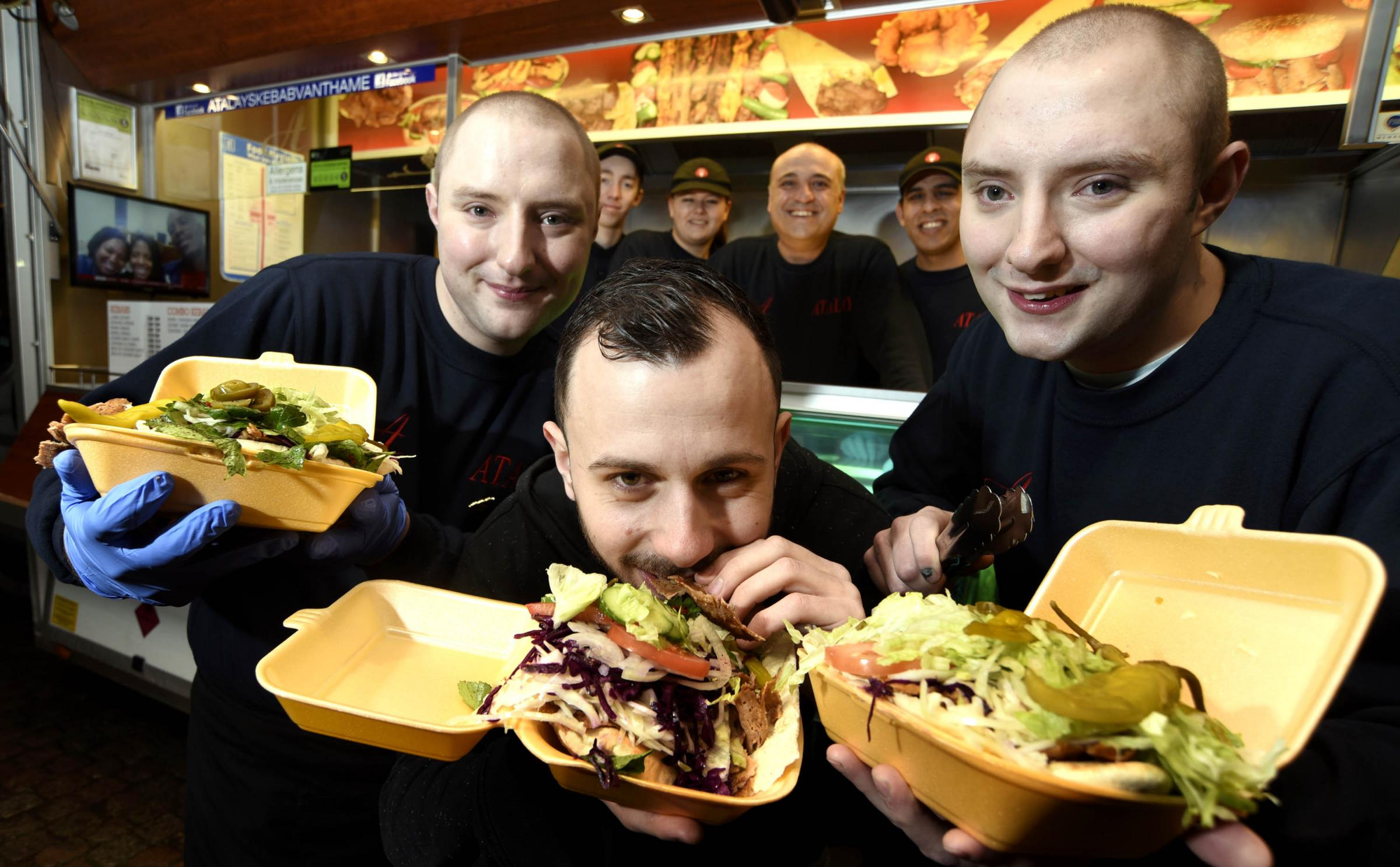 Kebab awards: Two Oxfordshire vans compete for top prize