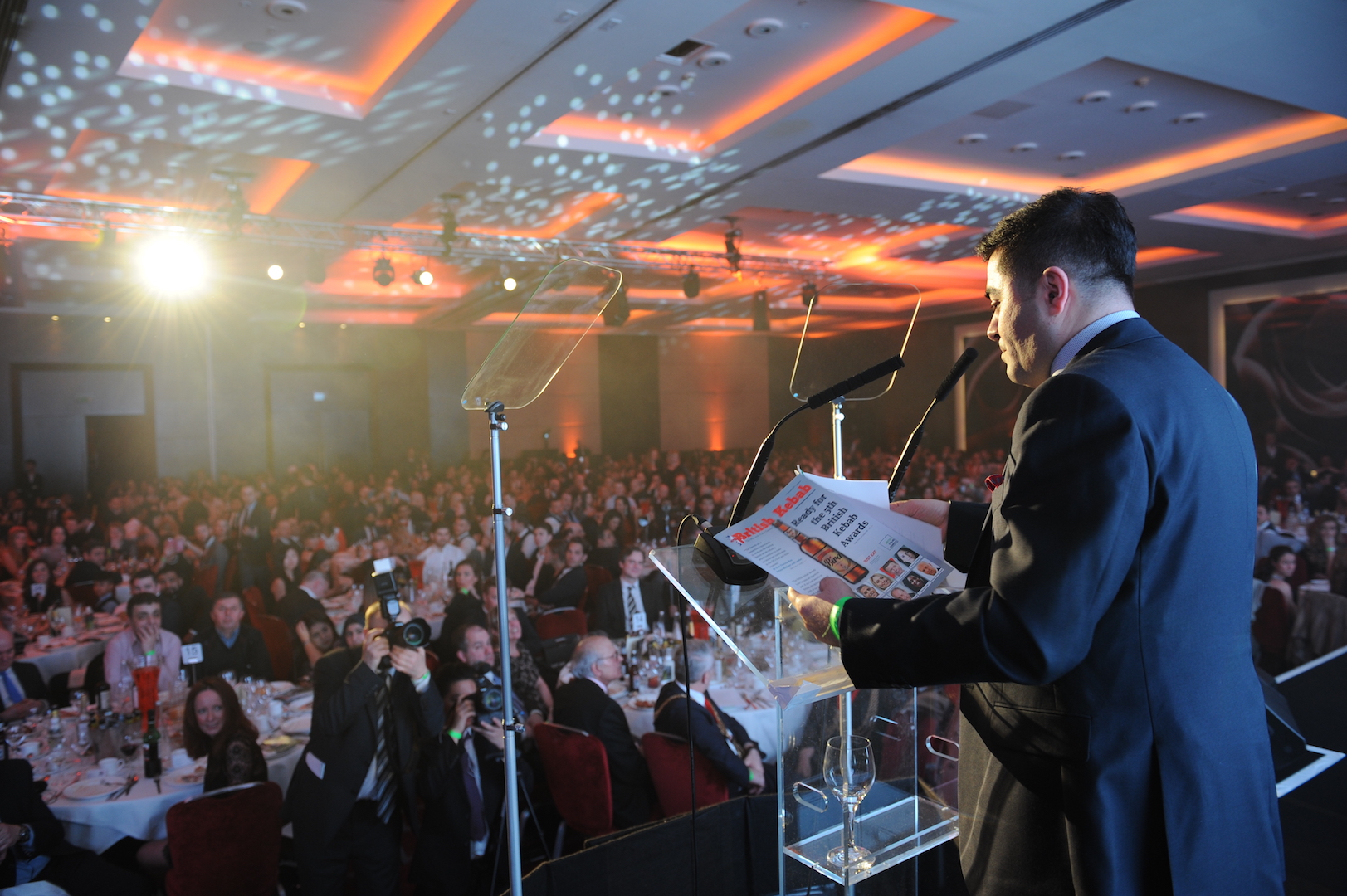 British Kebab Awards Founder Ibrahim Dogus' Speech at the Fifth Annual British Kebab Awards