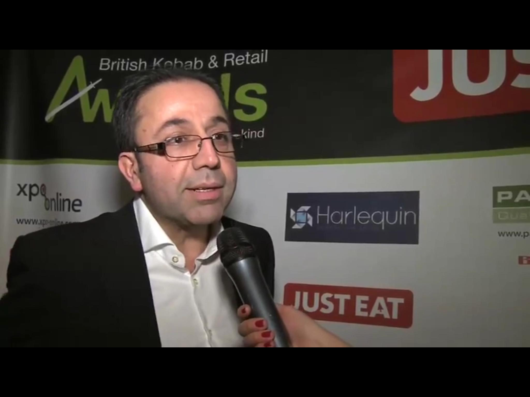 Metin Pekin, Managing Director of Paragon Quality Foods Ltd