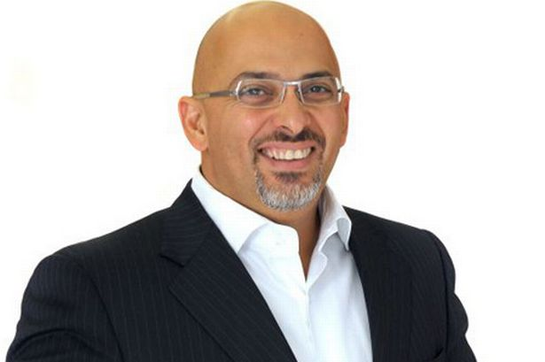 Conservative MP for Stratford on Avon, Nadhim Zahawi