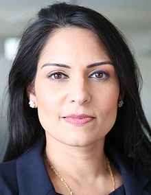 Rt Hon Priti Patel, Secretary of State for International Development and Conservative MP for Witham