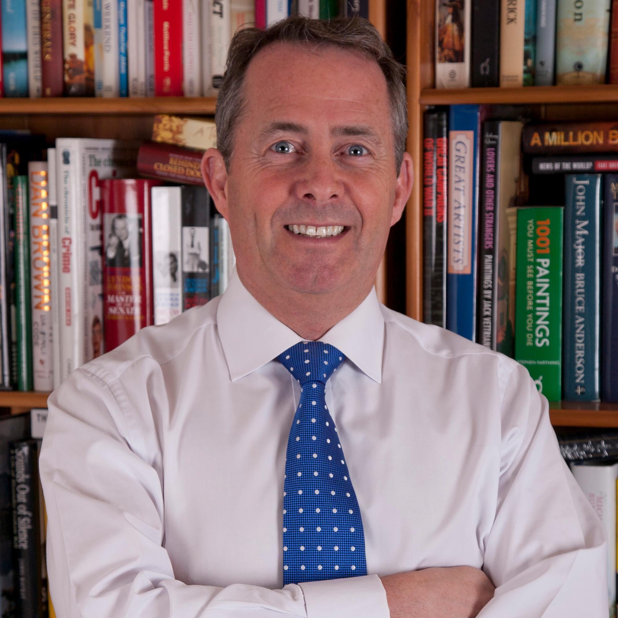 Rt Hon Dr Liam Fox, Secretary of State for International Trade, President of the Board of Trade and Conservative MP for North Somerset