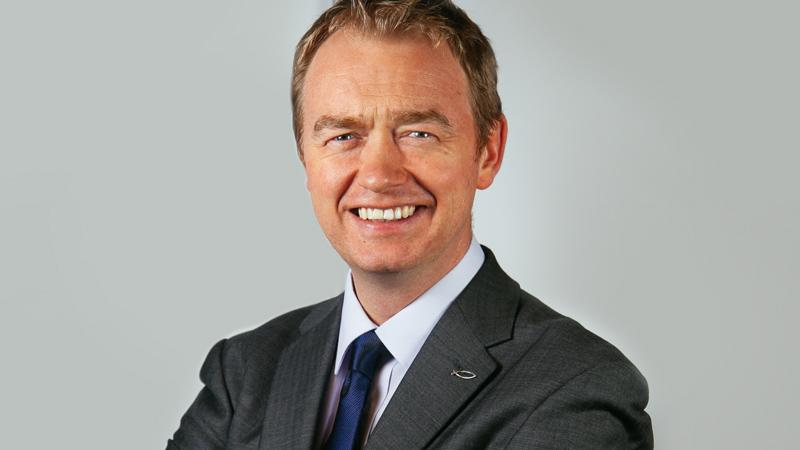 Tim Farron, Leader of the Liberal Democrat Party and MP for Westmorland and Lonsdale