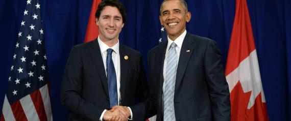 Justin Trudeau Barack Obama
