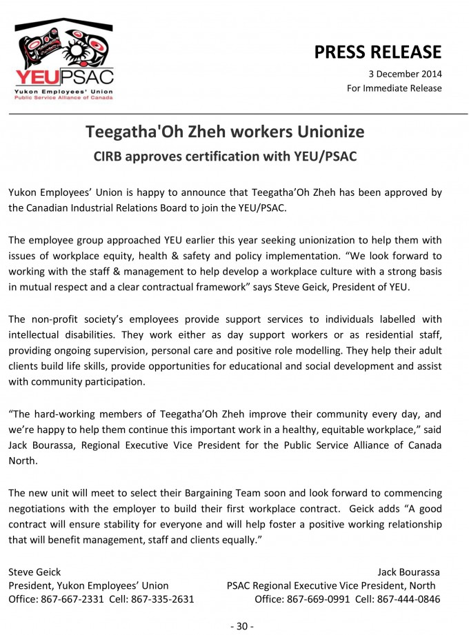 Teegatha'Oh-Zheh-Union-Certification-Dec-3-2014