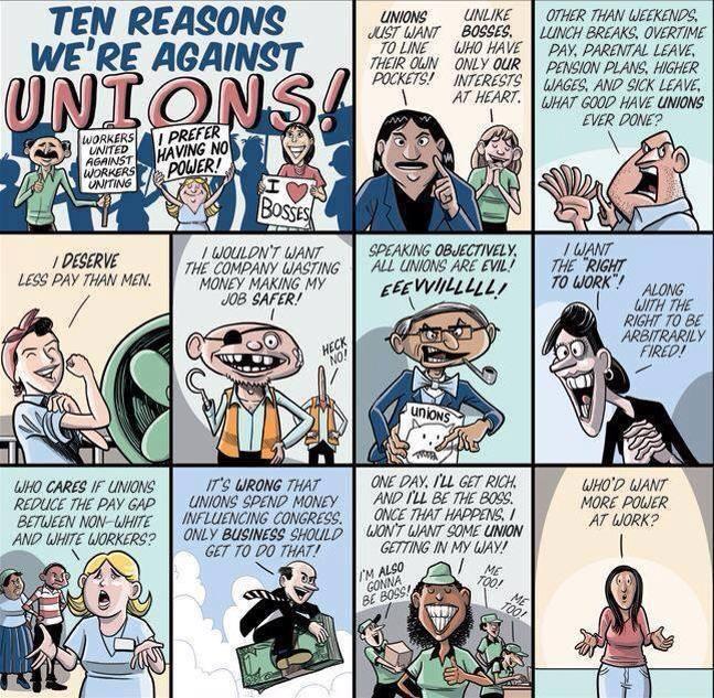 union cartoon