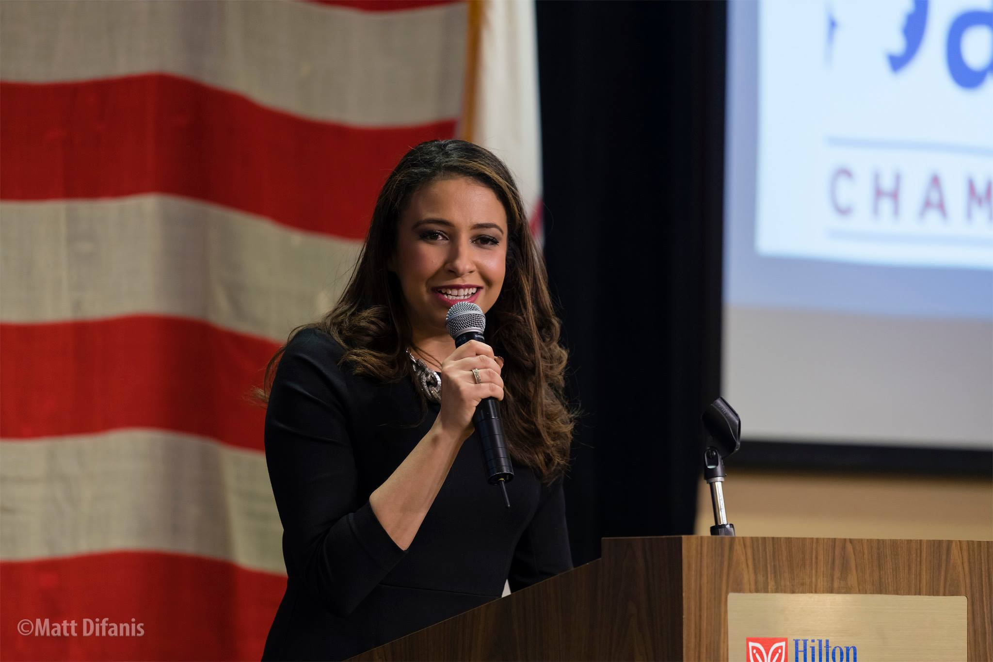Erika Harold 2018 Champaign Lincoln Day Dinner