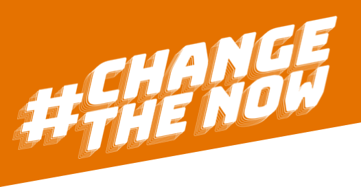 #ChangeTheNow logo