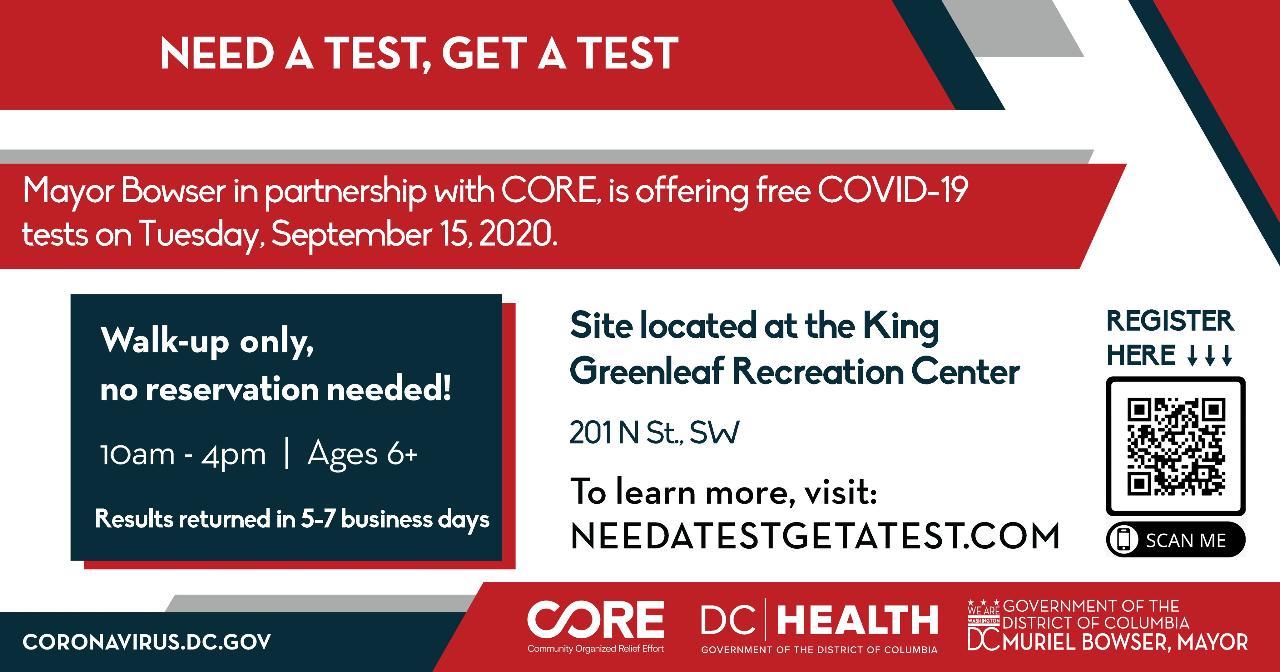 COVID testing in SW