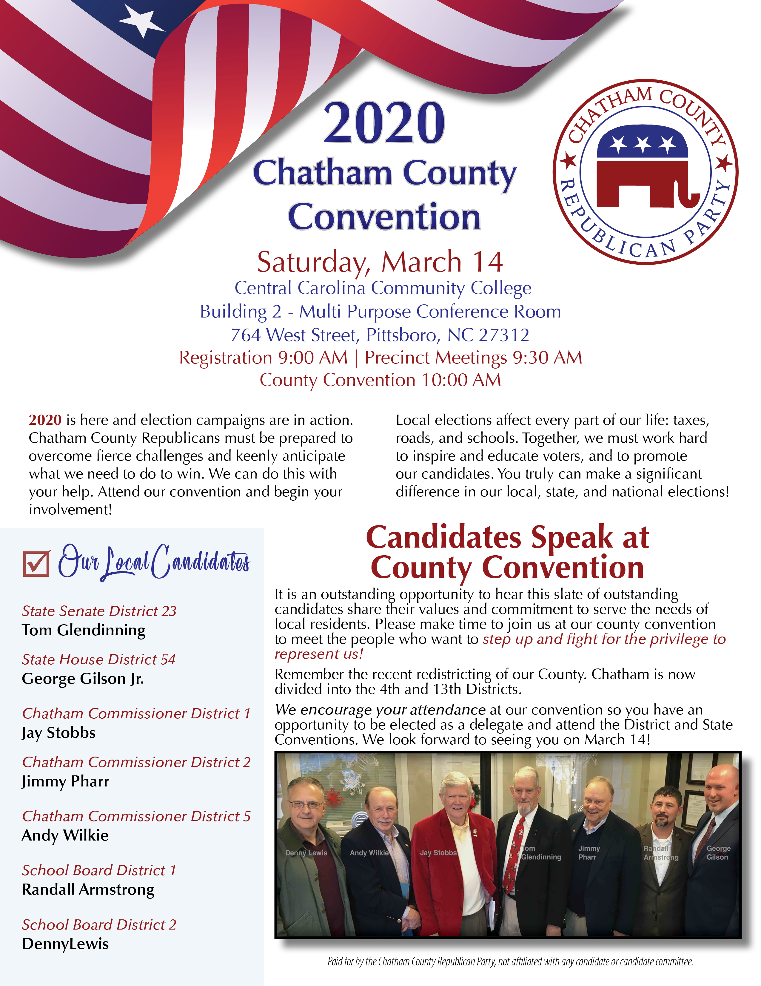 2020 Convention Flyer