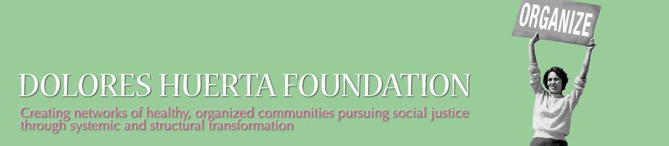 Visit the Dolore Huerta Foundation Website
