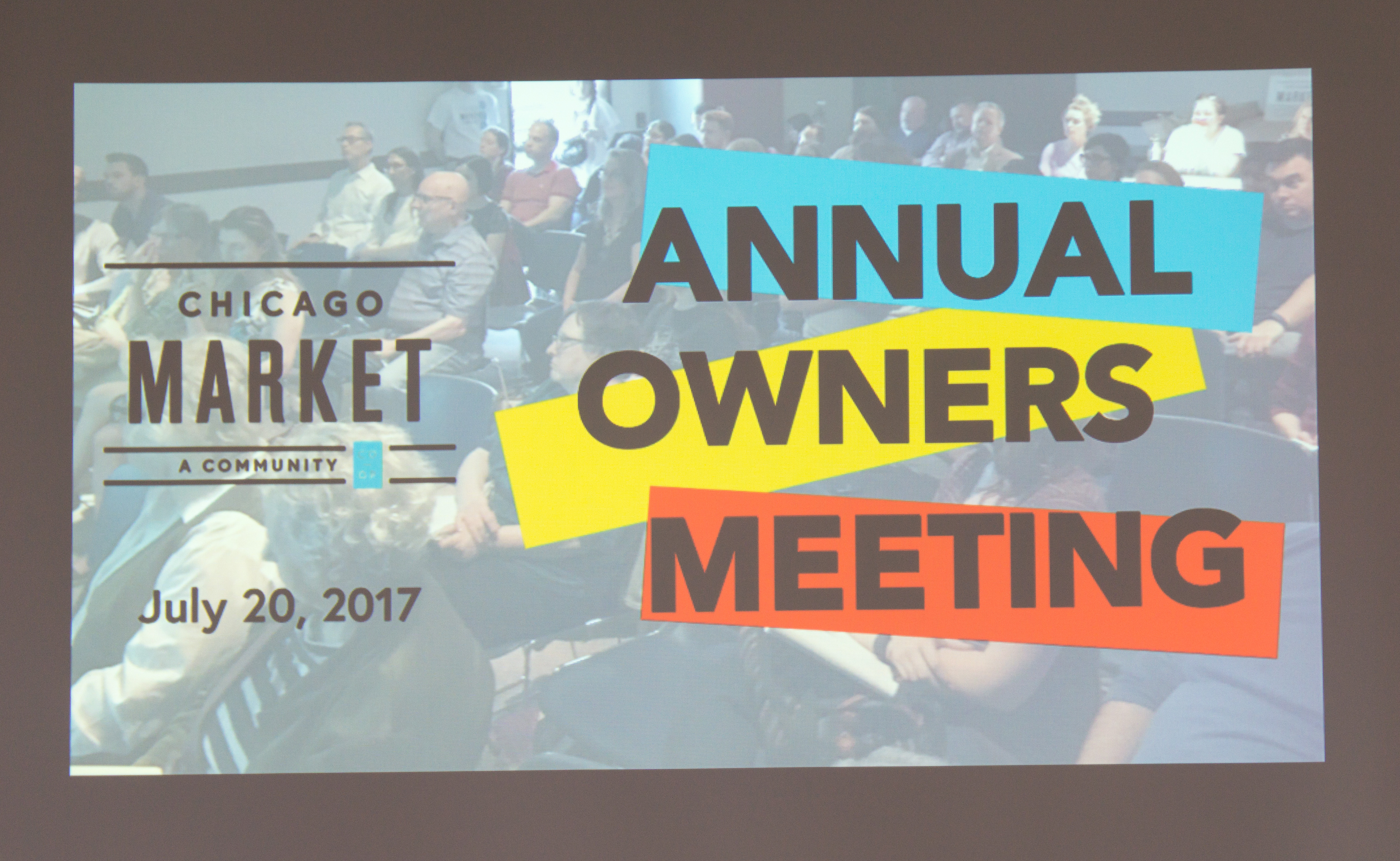 Annual Owners Meeting 2017