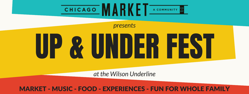 Up & Under Fest. Logo