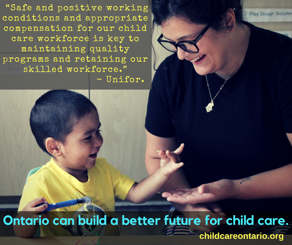 better care for a better future Build a better future letter template find your  the ontario coalition for better child care.