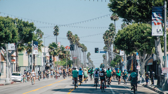Avalon during CicLAvia