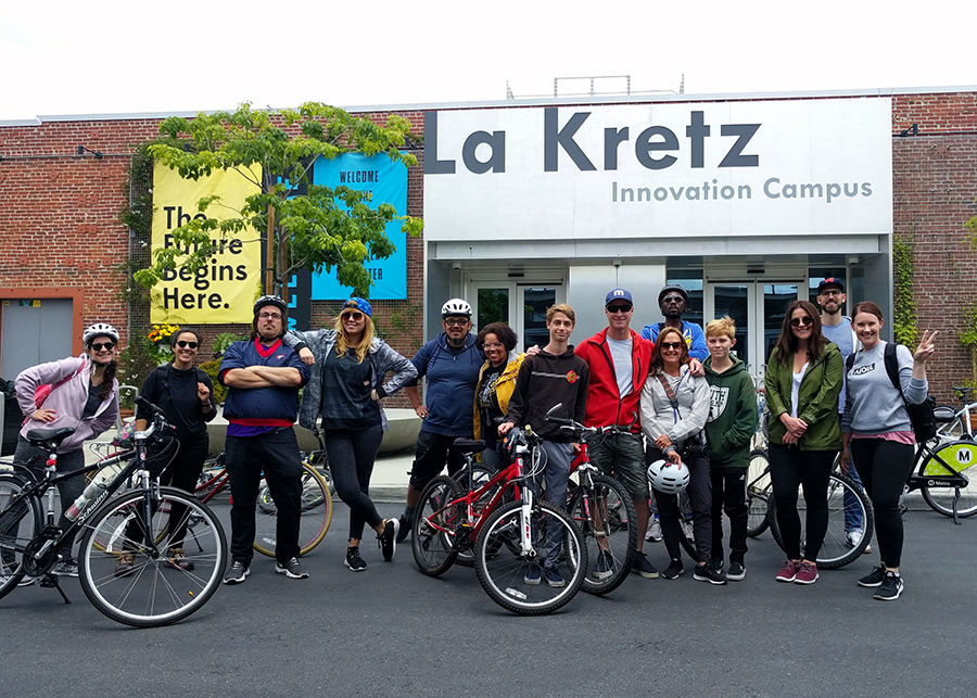 CicLAvia at the La Kretz Innovation Campus