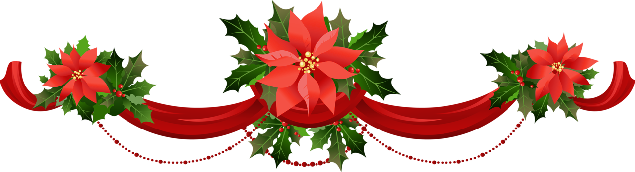 Transparent_Christmas_Garland_with_Poinsettias_PNG_Clipart.png