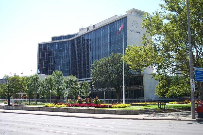 Hamilton City Hall. Photo: Aaron Segaert/Wikimedia.