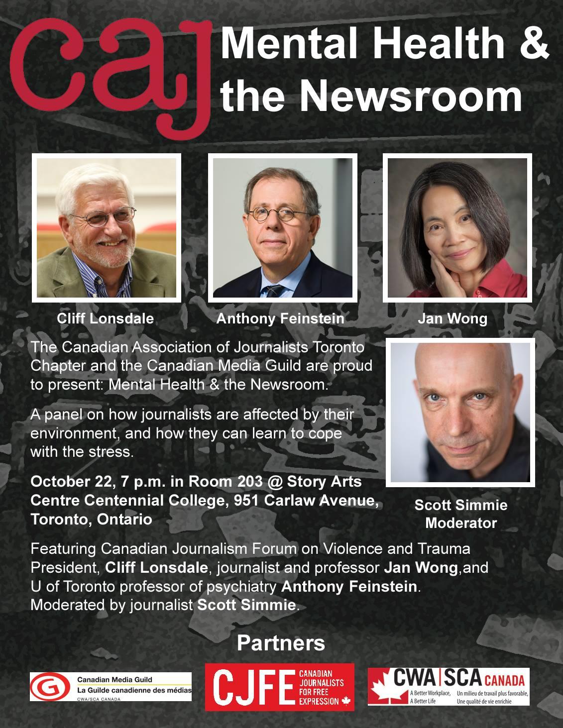 Mental Health & the Newsroom - CJFE | Canadian Journalists ...