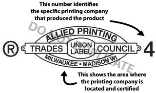 Union printers clc of nashville and middle tennessee union printers unionlabelcartoong unionbugexplainedg colourmoves