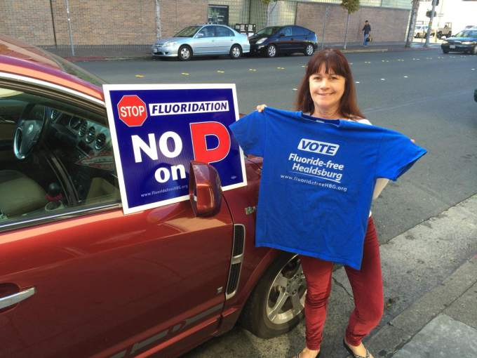 Dawna Healdsburg Fluoride Vote No On Measure P