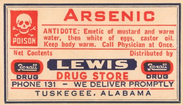 Arsenic fluoride poison