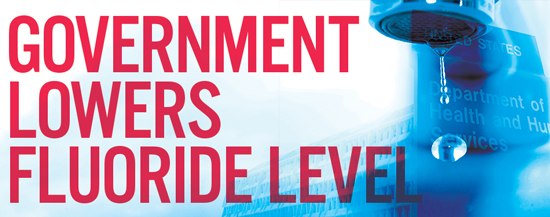US Government lowers fluorde level