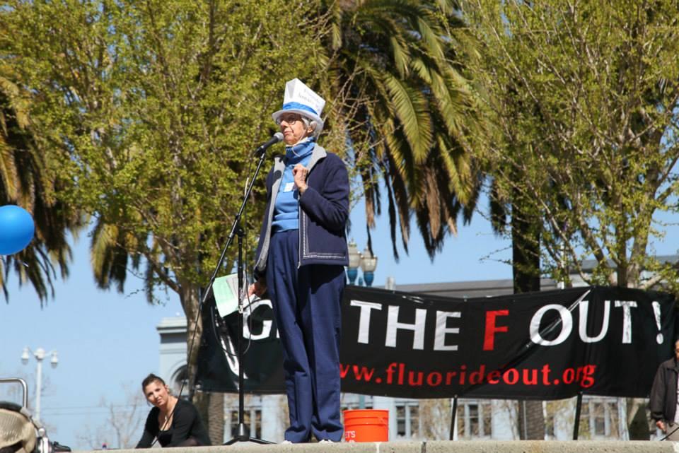 Children's health writer Arlene Goetze clean, water, california, fluoridation, fluoride, san francisco