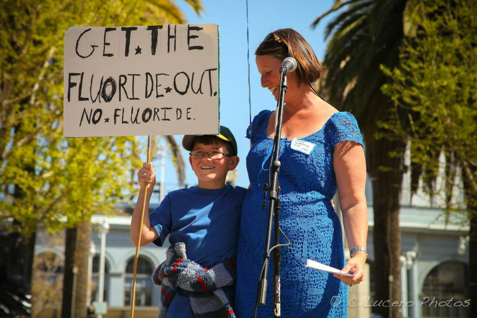 Clean Water California's Kristie Lavelle clean, water, california, fluoridation, fluoride, san francisco