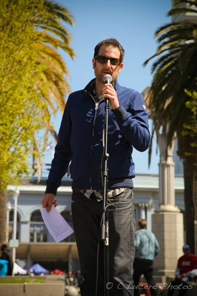 Clean Water California's Jay Sanders clean, water, california, fluoridation, fluoride, san francisco