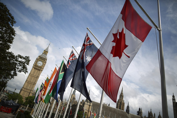 Flags of Commonwealth Countries outside Parliament