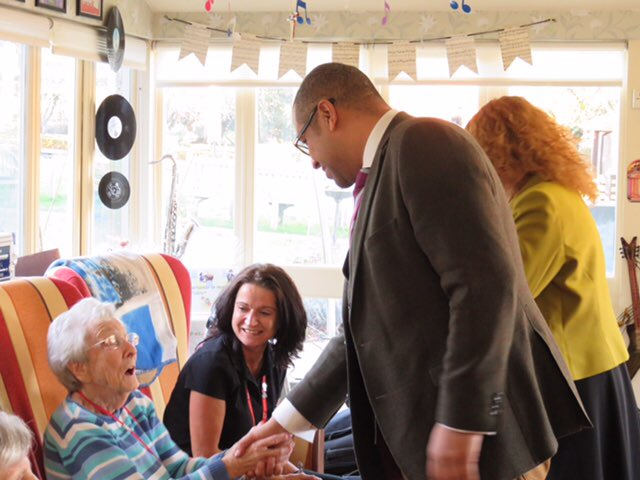 Visit to New Deanery care home