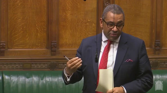 James Cleverly speaking in the House of Commons, 16 October 2017