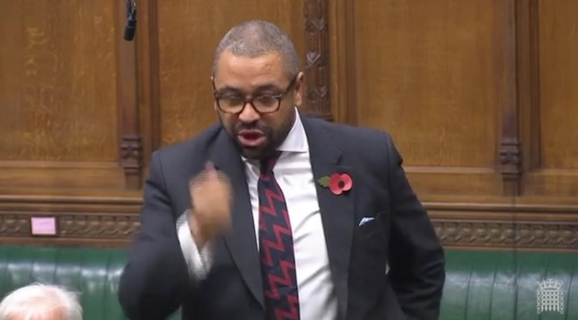 James Cleverly speaking in the House of Commons, 1 Nov 2017