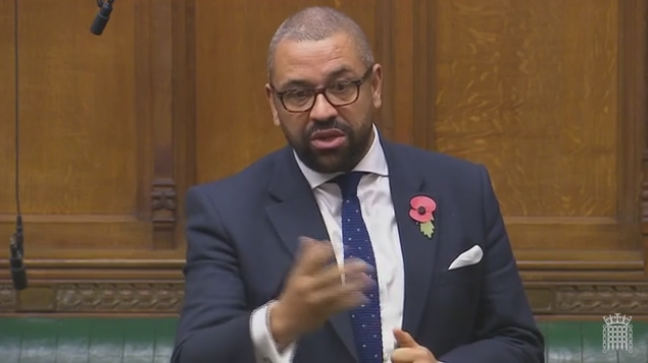 James Cleverly speaking in the House of Commons, 6th December 2017