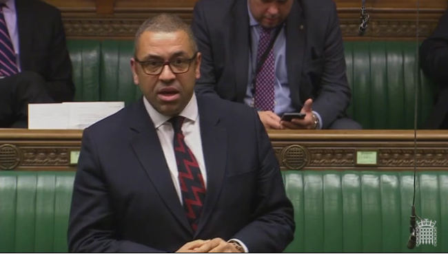Speaking in the House of Commons, 1st Feb 2017