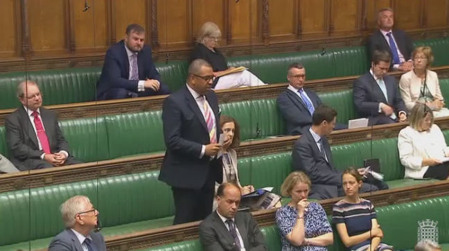 Speaking in the House of Commons, 22 Jun 2017