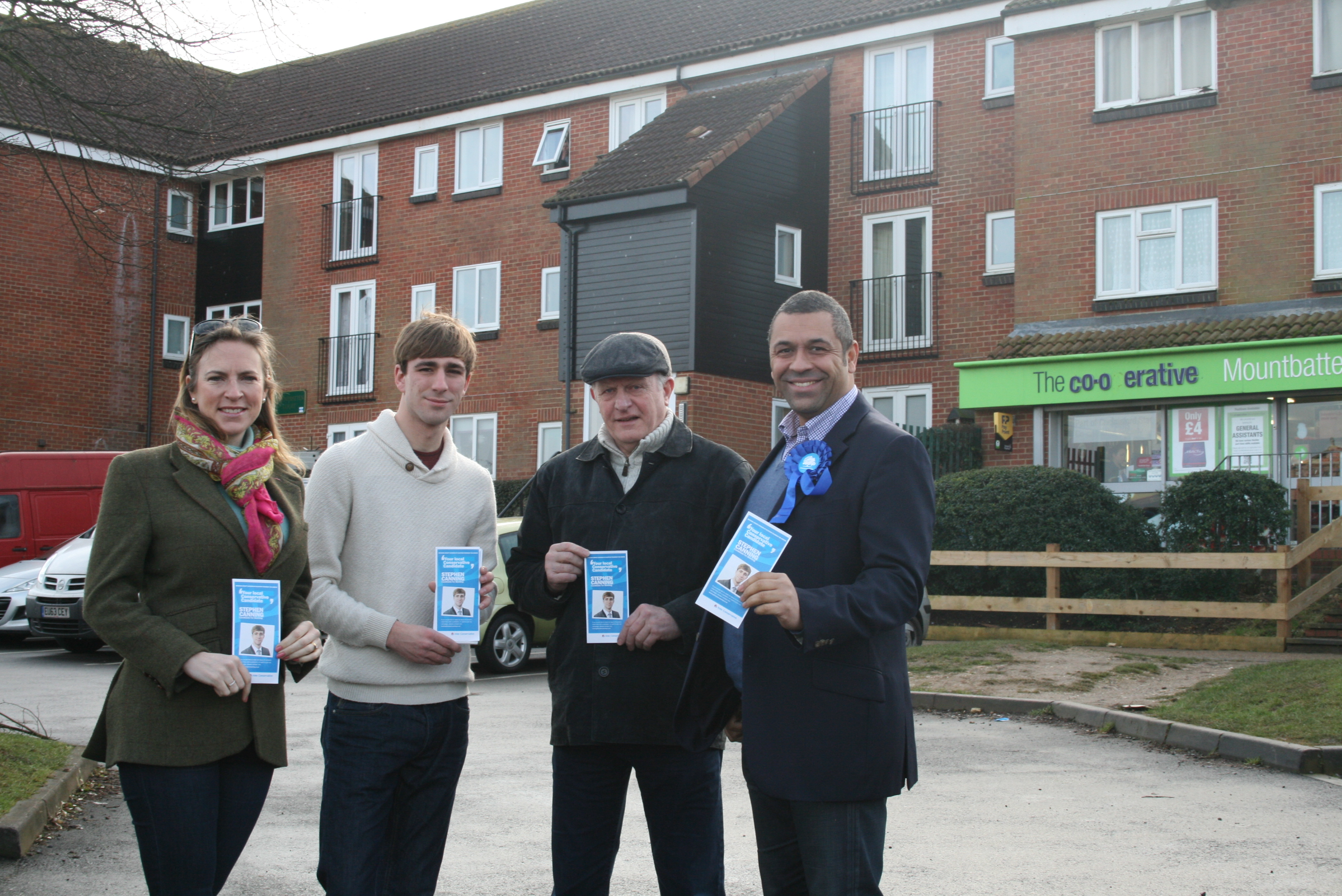 Campaigning in Bocking