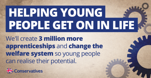 3 million apprenticeships