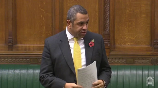 Speaking in the House of Commons, 7th Nov 2016