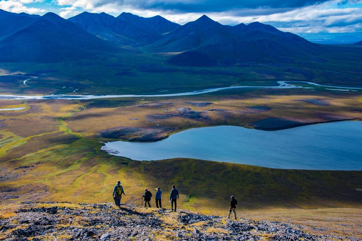 Vista Mountains, Western Arctic