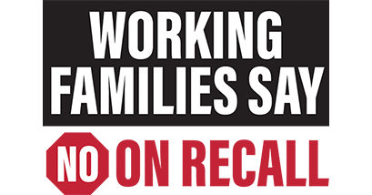 Working Families Against the Recall